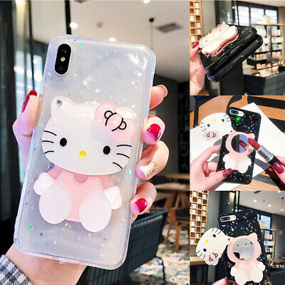 Fashion Hello Kitty Pttern Shockproof Nonslip Soft TPU Phone Case For iPhone Lot