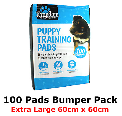 Dog Puppy Training Pads Extra Large Pad Pet Floor Toilet XL Dog Mats 60 x 60cm