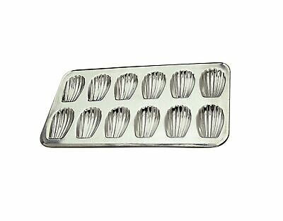 Made in France Gobel 12 Count Heavy Tinned Steel Madeleine Sheet Pan