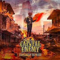 """New Music """"Capital Enemy """"Knowledge Of The Wicked"""" CD"""