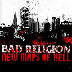 "New Music Bad Religion   ""New Maps Of Hell""   LP"