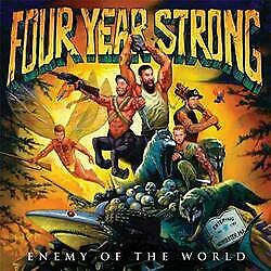 """New Music Four Year Strong """"Enemy Of The World"""" CD"""