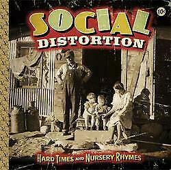 "New Music Social Distortion ""Hard Times And Nursery Rhymes"" CD"