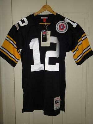 6814b600e30 Terry Bradshaw 1975 Steelers Mitchell   Ness Men s Authentic Jersey 36 ...