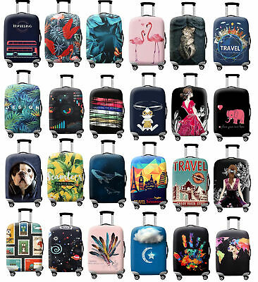 """18""""-32"""" Luggage Protective Case Cover Bag Suitcase Trolley Dust Elastic Covers"""