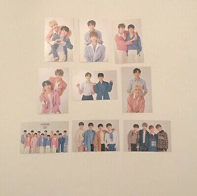 SEVENTEEN in Carat Land 2019 SVT 3rd Fanmeeting Pairs/Group Trading Cards