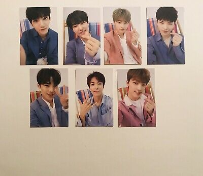 "SEVENTEEN in Carat Land 2019 SVT 3rd Fanmeeting ""In My Holiday"" Trading Cards."