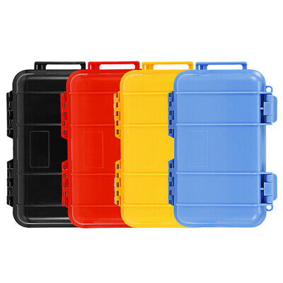 Shockproof Plastic Outdoor Survival Container Storage Case Carry Box Waterproof