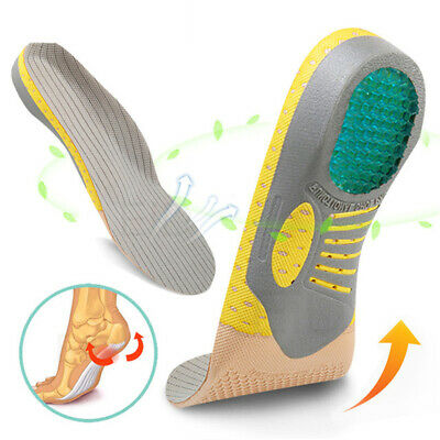 Orthopedic Insoles For Arch Support Plantar Fasciitis Flat Feet Care Shoe Pad