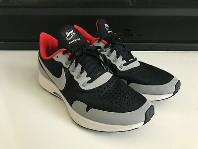 5bb110731dd2 Nike Zoom Pegasus 35 ID Black Grey Red Supreme Mens Size 8 Running Shoes
