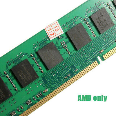 For AMD Motherboard 8GB 1600MHz DDR3 PC3-12800 Desktop PC DIMM Memory Ram Only