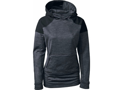 13d1fb59fc7408 New Womens The North Face Dynamix Hoodie Asphalt Grey Heather/TNF Black  MSRP $99