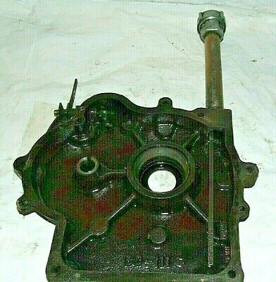 WISCONSIN, 7 HP,CRANK CASE, COVER,OIL SIDE,WITH DIPSTICK,USED, S-7,1963 Bolens