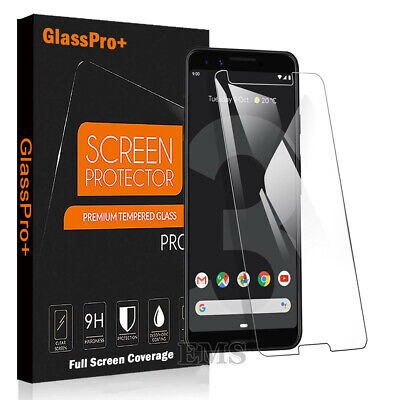 For Google Pixel 4 3 3A XL 3XL Full Coverage Tempered Glass Screen Protector