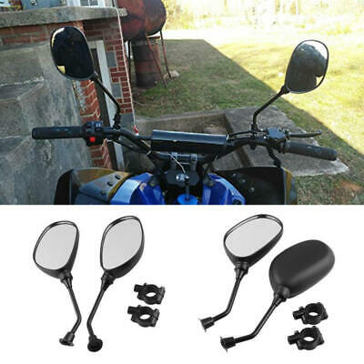 Universal Scooter Rearview Mirror ATV Handlebar Folding Mirror For Motorcycle