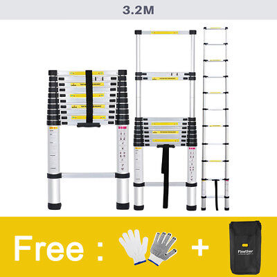 3.2M Portable Robuste Multi-Purpose Aluminum télescopage échelle Ladder Vente