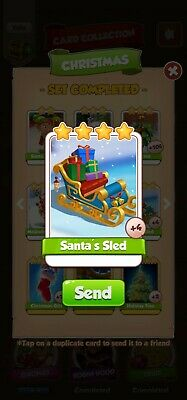 Coin Master ☆☆☆Santas sled ☆☆☆ Fastest Delivery