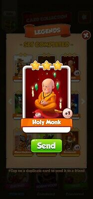 Coin Master ☆☆☆Holy Monk ☆☆☆ Fastest Delivery