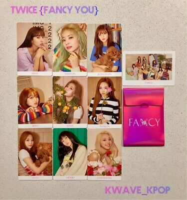 Twice {Fancy You} - Official 10 Pieces Photo Card Set