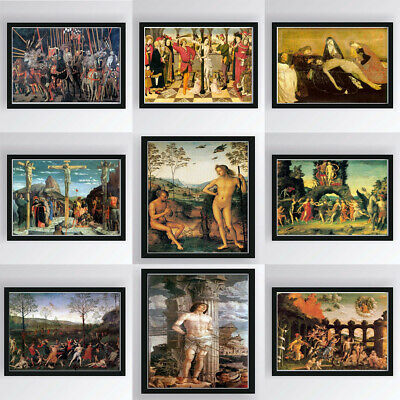 Character Canvas Art Oil Painting Poster Living Room Wall Hanging Decor Unframed