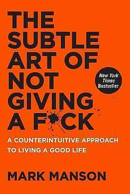 New The Subtle Art of Not Giving a F*ck (Paperback) Free Postage
