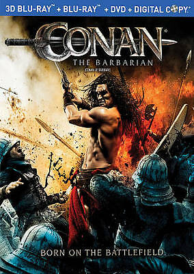 Conan the Barbarian 3D (Blu-ray 3D/Blu-ray, OOP Slipcover, Canadian)