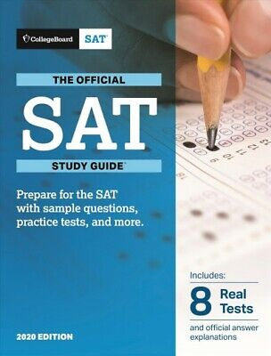 Official SAT 2020, Paperback by College Board (COR), Like New Used, Free ship...