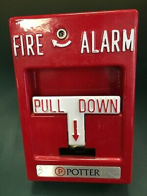 AAMES SECURITY SP-1 FIRE ALARM PULL STATION