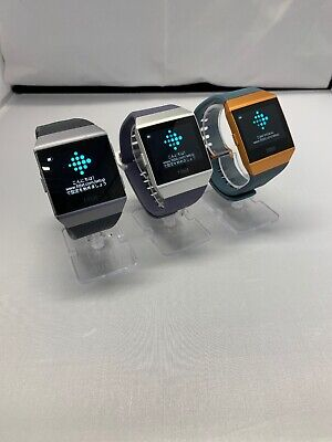 Fitbit Ionic Smartwatch Activity Tracker Choose Watch and Band Color Combination