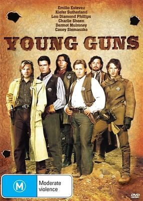 Young Guns (DVD, 2015) Most Wanted Edition