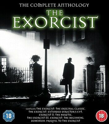 The Exorcist - The Complete Anthology (5 Films) Blu-Ray