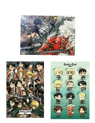 ATTACK ON TITAN ~ CHARACTERS COLLAGE~ 24x36 Anime Poster NEW//ROLLED!