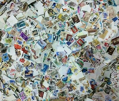 1000 Bulk Mixed Used Australia Stamps