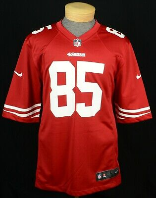 Wholesale NWT 100% AUTHENTIC Nike NFL San Francisco 49ers Jersey #85 Vernon