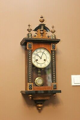Small Junghans germany wall clock   1910