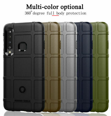 Shockproof Silicone Shield Soft TPU Rubber Case Cover For Samsung Galaxy A9 2018