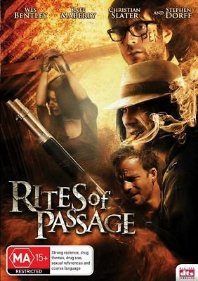 Rites of Passage (DVD, 2012) Wes Bently | Christian Slater RARE Horror Movie