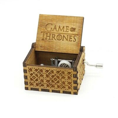 Game of Thrones Main Title Theme ♫♫♫ Engraved handmade wooden music box ♫♫♫