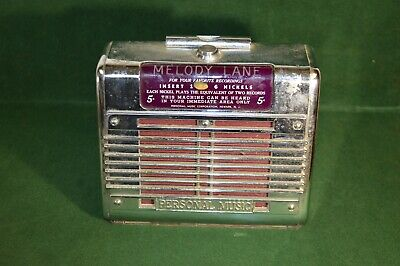 ANTIQUE JUKEBOX COIN Operated Machine Mills Novelty Lot of