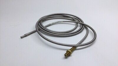 """Tri-Tronics 15712 Fiber Optic Cable F-A-96T 0.125"""" x 96"""" Threaded Stainless"""