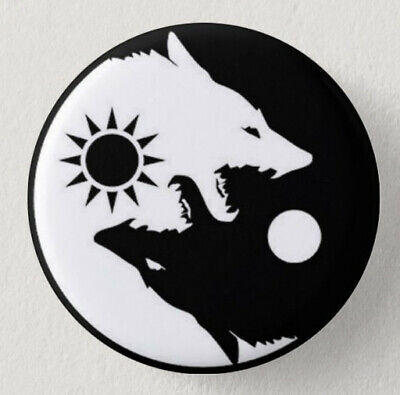 ☯ Pin Button Badge Ø38mm Yin Yang #3