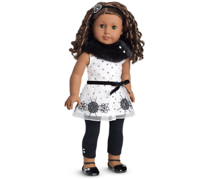 American Girl Let It Snow Outfit For 18-inch Dolls New In Truly Me Box