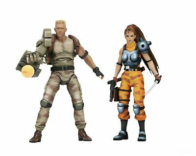 "Aliens vs Predator (Arcade) - 7"" Scale Action Figure 2 pack - Dutch & Linn NECA"