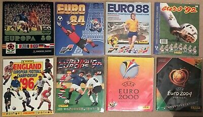 Panini European Championship Completed Albums Collection - Pick/choose