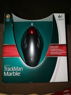 d9e306d1a99 LOGITECH TRACKMAN MARBLE Trackball Mouse USB,800DPI Wired ...