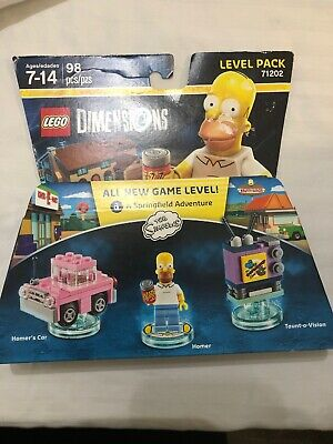 Lego Dimensions The Simpsons Homer Homer/'s Car 3 In 1 Building Toy New Collect