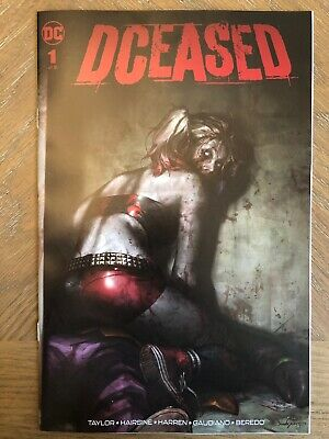 DCEASED #1 VARIANT JEEHYUNG LEE TRADE HARLEY QUINN BATMAN Limited to 1500!