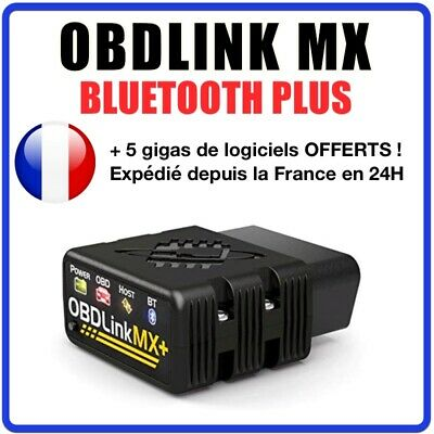 OBDLink MX + Bluetooth Professionnel pour IOS, Android & Windows