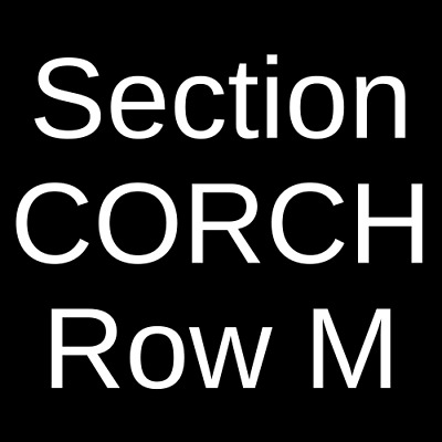 4 Tickets Abba The Concert 8/6/19 Bergen Performing Arts Center Englewood, NJ