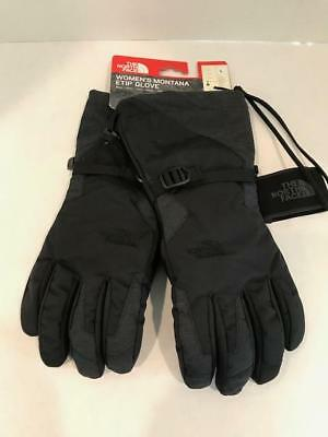 New North Face Womens Montana Etip Glove-TNF Black NWT Msrp: $70.00